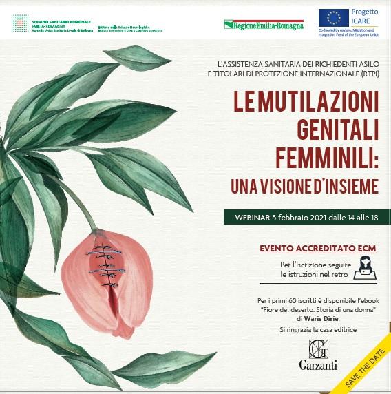 """Webinar """"Le Mutilazioni Genitali Femminili: una visione d'insieme"""""""