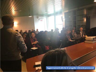 Aggiornamento attività di Progetto referenti provinciali