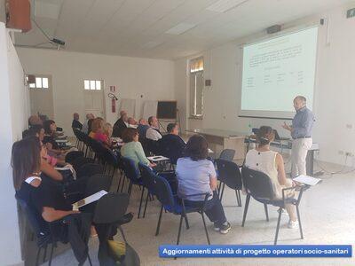 Aggiornamento attività di Progetto Operatori socio-sanitari