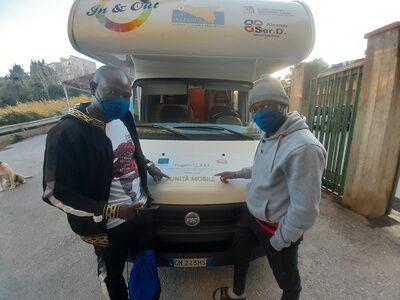 Ricerca virus covid 19 popolazione migrante in comunità 23.11.2020 Trapani.