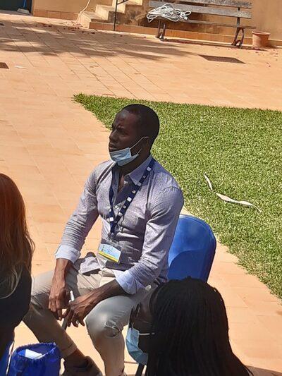 BAH ABDURAMAN ORIGINI GUINEA  ora Mediatore Culturale