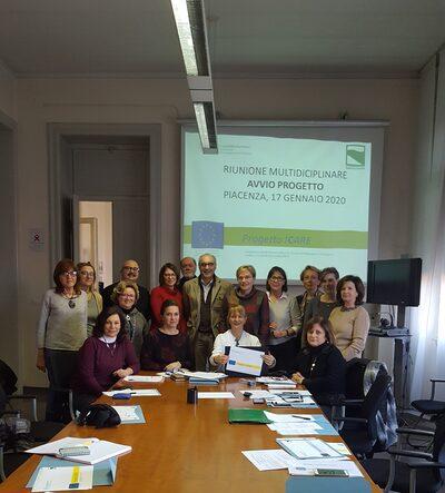 ASL Piacenza: ufficio dedicato Progetto ICARE