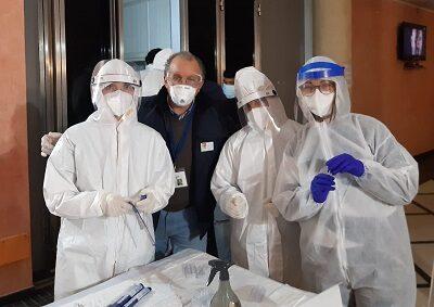 Antonino Sparaco e Professionisti Sanitari